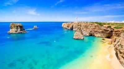 Praia da Luz, Portugal