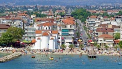 Temperatura Wody W Paralii Katerini W Morze Egejskie Teraz Grecja