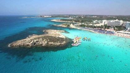 Nissi Beach, Cypr