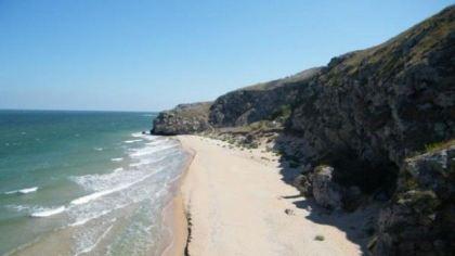 Арабатский залив, Крым
