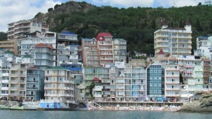 Крымская Санта-Барбара, Крым