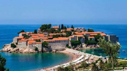 Wyspa Świętego Szczepana, Czarnogóra