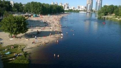 Dniepr (koło Kijowa), Ukraina