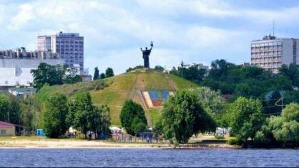 Dniepr (niedaleko Czerkasów), Ukraina