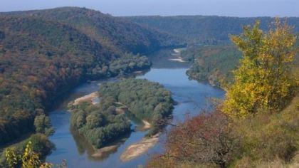 Kanion Dniestru, Ukraina