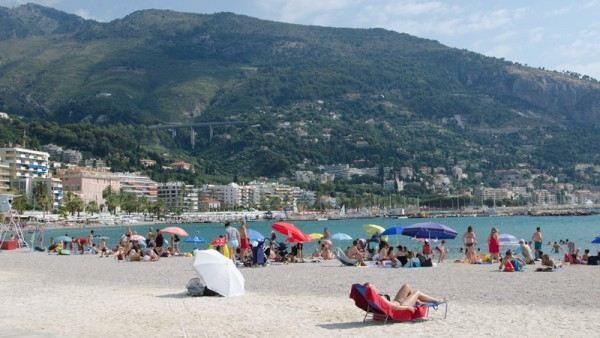 Температура воды в Средиземном море