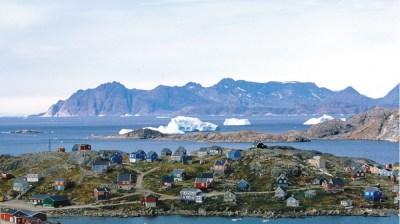 Seawater temperature in Tasiilaq (Greenland) in October | Historical